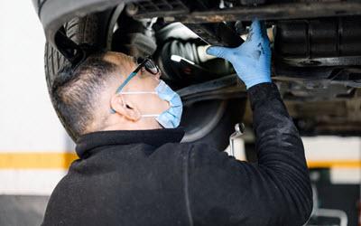 BMW DSC System Inspection