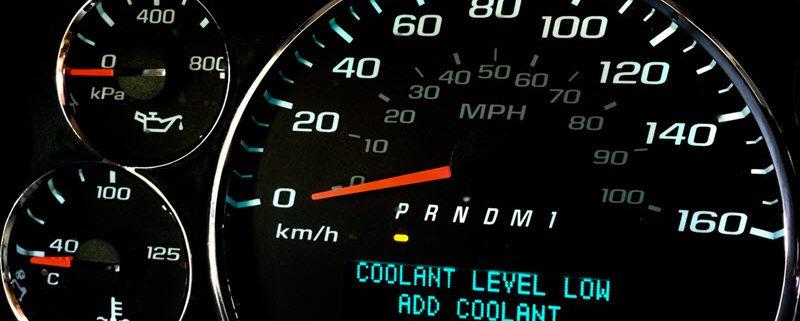 BMW Low Coolant Level Warning Light