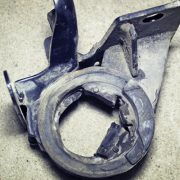 Damaged MINI Engine Mount